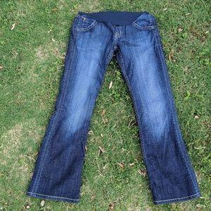 Hudson Designer Maternity Jeans, 28